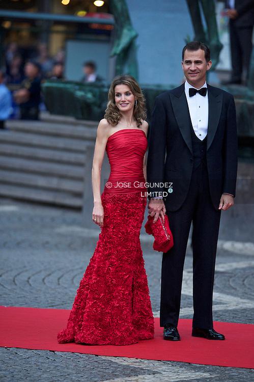 Swedish Royal Wedding.<br /> Riksdag Gala Performance at Stocholm Concert Hall.