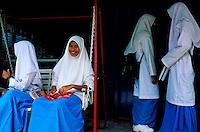 Malaisie, Kota Bharu, Etudiantes // Malaysia, Kota Bharu, Students