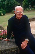 A portrait of Science-fiction writer Arthur C Clarke in the summer of 1992, at his home in Minehead, England. Sir Arthur Charles Clarke, CBE, FRAS (1917– 2008) was a British science fiction writer, science writer and futurist, inventor, undersea explorer, and television series host. He is perhaps most famous for being co-writer of the screenplay for the movie 2001: A Space Odyssey, widely considered to be one of the most influential films of all time.