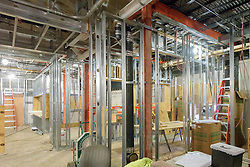 Major Renovation Litchfield Hall WCSU Danbury CT<br /> Connecticut State Project No: CF-RD-275<br /> Architect: OakPark Architects LLC  Contractor: Nosal Builders<br /> James R Anderson Photography New Haven CT photog.com<br /> Date of Photograph: 27 January 2017<br /> Camera View: 07 - First Floor Lounge Area South