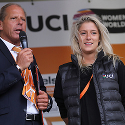 02-09-2017: Wielrennen: Boels Ladies Tour: Vaals: Morgane Gaultier: John Vingerling