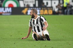 September 23, 2017 - Turin, Piedmont, Italy - Gonzalo Higuain of Juventus FC during the Serie A football match between Juventus FC and Torino FC at Allianz Stadium on 23 September, 2017 in Turin, Italy. ..Juventus FC won 4-0 over Torino FC. (Credit Image: © Massimiliano Ferraro/NurPhoto via ZUMA Press)