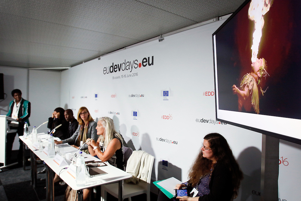 20160615 - Brussels , Belgium - 2016 June 15th - European Development Days - Culture and sustainable growth © European Union