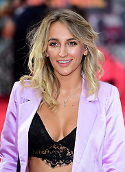 Tiffany Watson attending the European premiere of Rampage, held at the Cineworld in Leicester Square, London. Picture date: Wednesday April 11, 2018. See PA story SHOWBIZ Rampage. Photo credit should read: Ian West/PA Wire