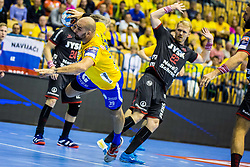Anic Igor of RK Celje Pivovarna Lasko during handball match between RK Celje Pivovarna Lasko (SLO) and SG Flensburg Handewitt (GER) in 3rd Round of EHF Men's Champions League 2018/19, on September 30, 2018 in Arena Zlatorog, Celje, Slovenia. Photo by Grega Valancic / Sportida