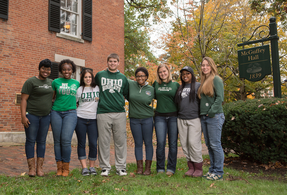 Students in Philanthopy group portrait. Photo by Lauren Pond
