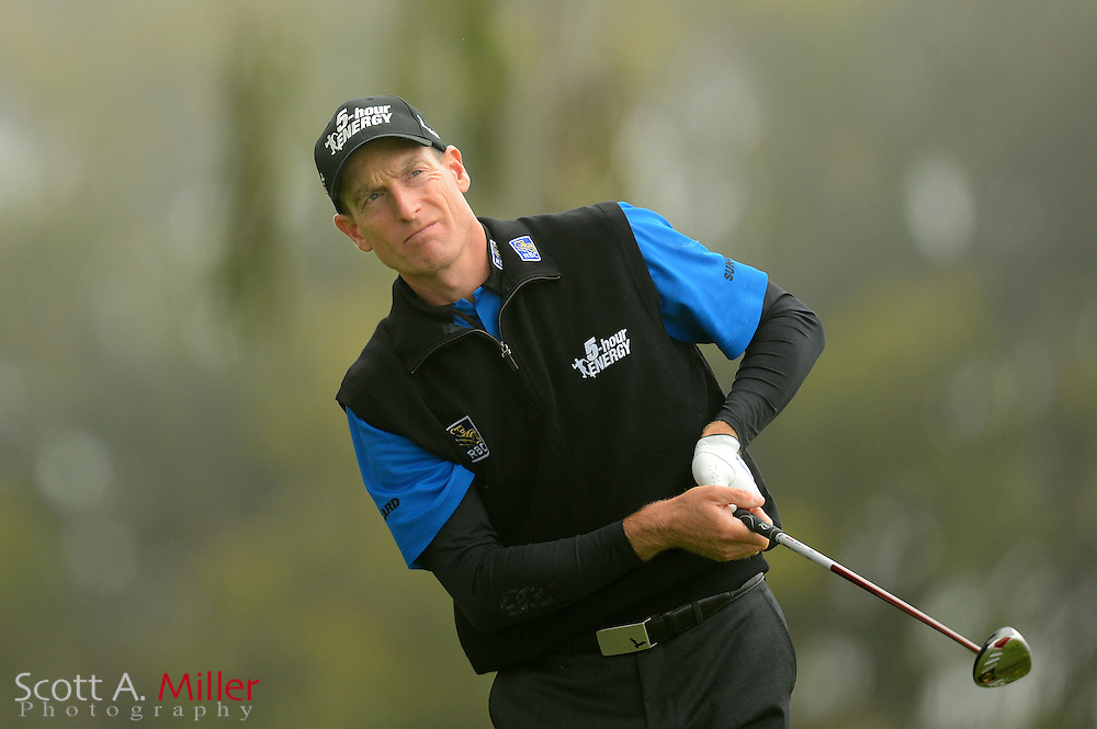 Jim Furyk during the final round of the 112th U.S. Open at The Olympic Club on June 17, 2012 in San Fransisco. ..©2012 Scott A. Miller