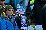 A young fan of Sheffield Wednesday during the EFL Sky Bet Championship match between Sheffield Wednesday and Nottingham Forest at Hillsborough, Sheffield, England on 9 April 2019.