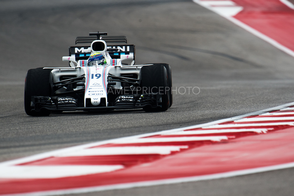 October 19-22, 2017: United States Grand Prix. Felipe Massa (BRA), Williams Martini Racing , FW40