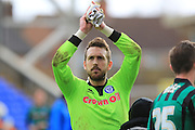 Josh Lillis during the Sky Bet League 1 match between Peterborough United and Rochdale at London Road, Peterborough, England on 9 April 2016. Photo by Daniel Youngs.