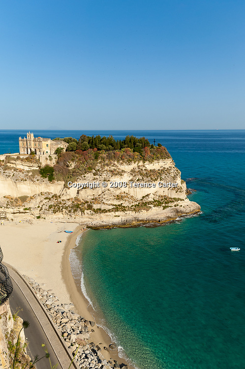 Tropea is the most striking of the coastal towns.