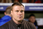 Bury Manager David Flitcroft  during the The FA Cup match between Bradford City and Bury at the Coral Windows Stadium, Bradford, England on 19 January 2016. Photo by Simon Davies.