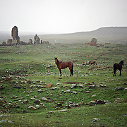 Armenia  - Ani /<br /> <br /> The ghost city of Ani &ndash; On the Turkish side of the Armenian-Turkish frontier lies the spectacular medieval city of Ani. The deserted city is an Armenian cultural and religious heritage symbol. <br /> Around the 10th century it was the capital of the Bagratid Armenian kingdom that covered much of present-day Armenia and eastern Turkey. Called the &ldquo;City of 1001 Churches&rdquo;, it stood on various trade routes and its fortifications were amongst the most technically advanced structures in the world.