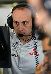Motorsports / Formula 1: World Championship 2010, GP of Italy, Phil Prew (Vodafone McLaren Mercedes)