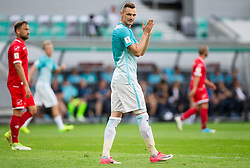 Milivoje Novakovic of Slovenia during football match between National teams of Slovenia and Malta in Round #6 of FIFA World Cup Russia 2018 qualifications in Group F, on June 10, 2017 in SRC Stozice, Ljubljana, Slovenia. Photo by Vid Ponikvar / Sportida