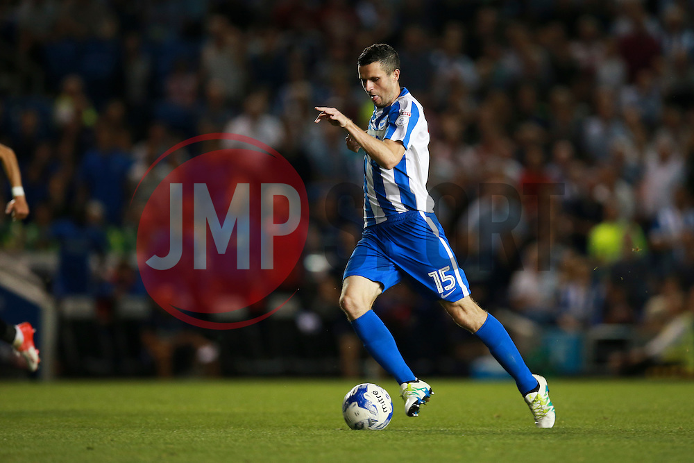 Jamie Murphy of Brighton & Hove Albion on the attack - Mandatory by-line: Jason Brown/JMP - 13/09/2016 - FOOTBALL - Amex Stadium - Brighton, England - Brighton & Hove Albion v Huddersfield Town - Sky Bet Championship