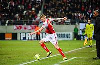 Gaetan CHARBONNIER - 25.01.2015 - Reims / Lens  - 22eme journee de Ligue1<br /> Photo : Dave Winter / Icon Sport *** Local Caption ***