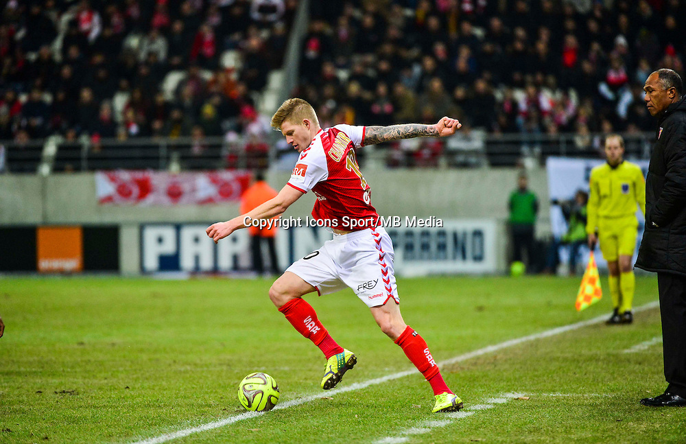 Gaetan CHARBONNIER - 25.01.2015 - Reims / Lens  - 22eme journee de Ligue1<br /> Photo : Dave Winter / Icon Sport *** Local Caption ***