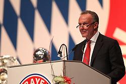 30.11.2010, Olympiahalle, Muenchen, GER, 1.FBL, Jahreshauptversammlung FC Bayern, im Bild  Karl-Heinz Rummenigge (Vorstandsvorsitzender Bayern) , EXPA Pictures © 2010, PhotoCredit: EXPA/ nph/  Straubmeier       ****** out ouf GER ******