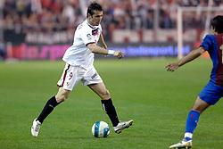 03-03-2007 VOETBAL: SEVILLA FC - BARCELONA: SEVILLA  <br /> Sevilla wint de topper met Barcelona met 2-1 / Alexander Kerzhakov<br /> ©2006-WWW.FOTOHOOGENDOORN.NL