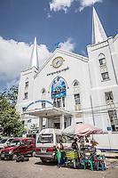 the Immanuel Baptist Church, Yangon, Burma.