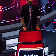 NLD/Hilversum/20180216 - Finale The voice of Holland 2018, Waylon