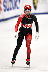 February 9, 2019 - Torino, Italia - Foto LaPresse/Nicolò Campo .9/02/2019 Torino (Italia) .Sport.ISU World Cup Short Track Torino - Men 1500 meters Semifinals .Nella foto: Steven Dubois..Photo LaPresse/Nicolò Campo .February 9, 2019 Turin (Italy) .Sport.ISU World Cup Short Track Turin - Men 1500 meters Semifinals.In the picture: Steven Dubois (Credit Image: © Nicolò Campo/Lapresse via ZUMA Press)