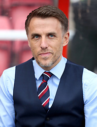 File photo dated 09-04-2019 of England Women manager, Phil Neville.