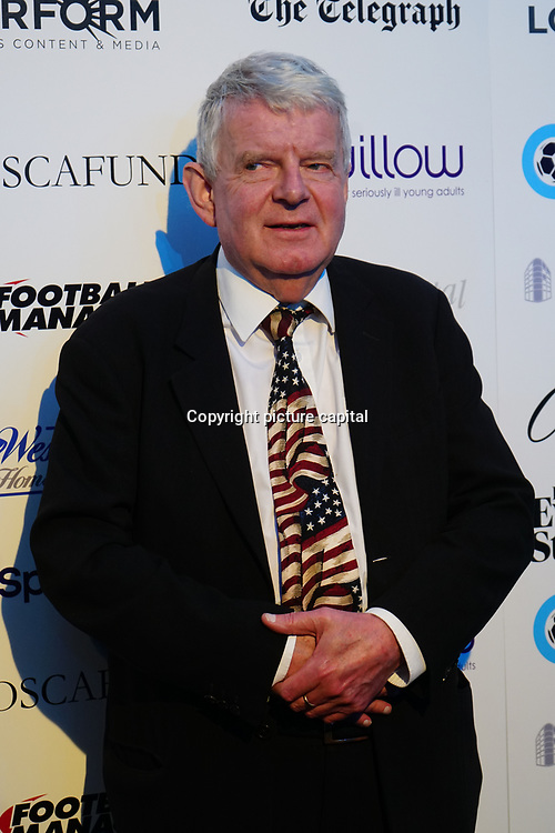 John Motson Arrives at London Football Awards 2018 at Battersea Evolution on 1st March 2018,  London, UK.