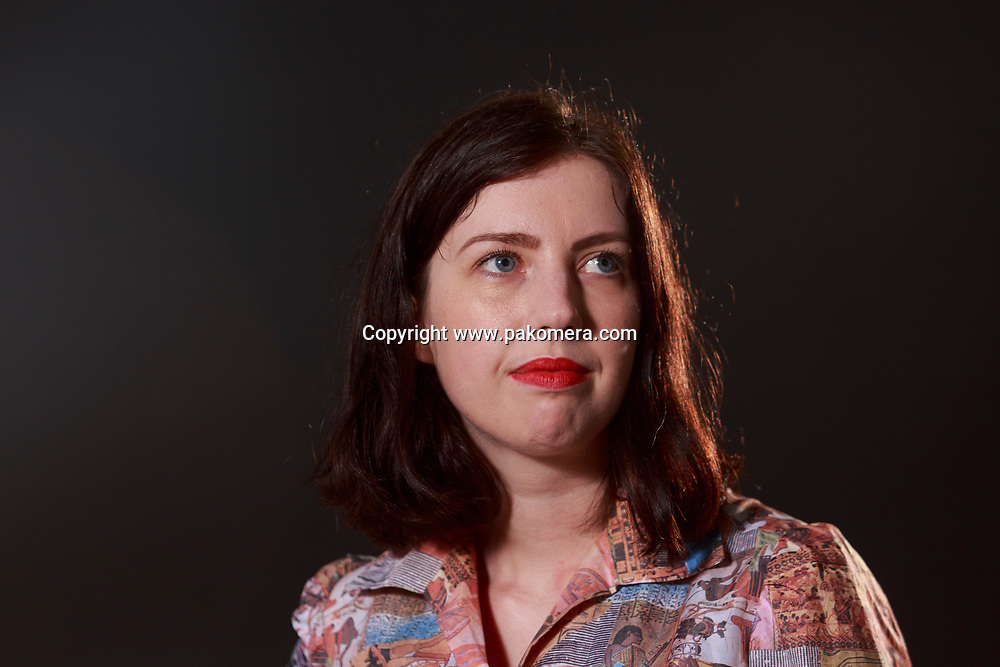 Edinburgh, Scotland 21st August. Day 10 Edinburgh International Book Festival. Pictured: Hera Lindsay Bird, poet who lives in Wellington, New Zealand. Pako Mera