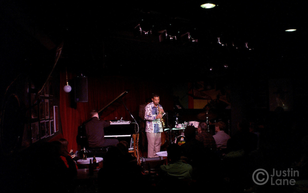 The Buster Williams quartet performs on 10 February 2005 at the Village Vanguard in New York.<br /> JUSTIN LANE FOR THE DETROIT FREE PRESS
