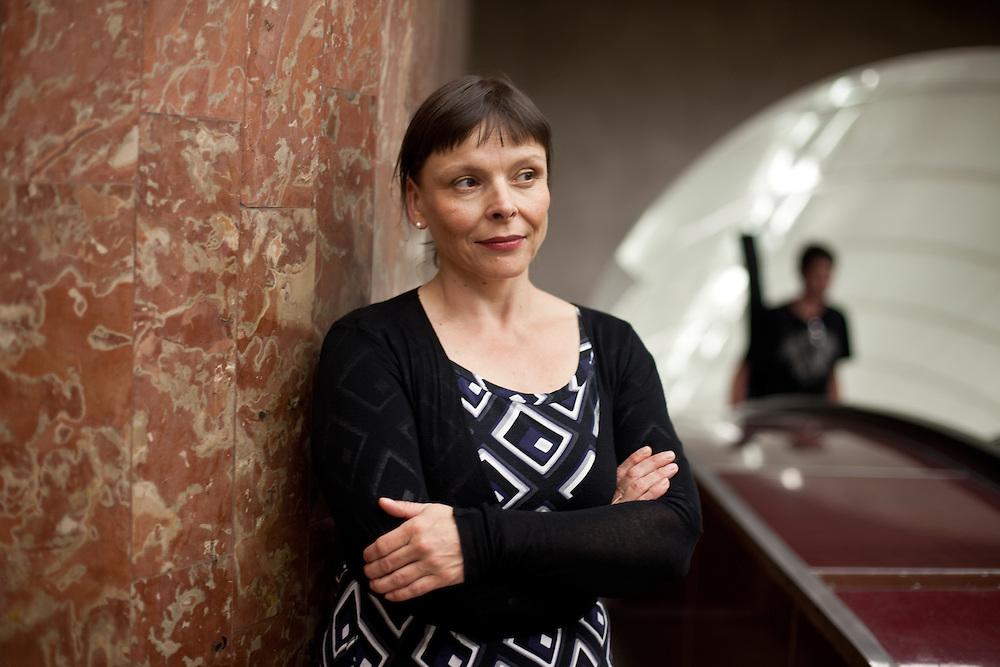 Schriftstellerin Ilona Stumpe-Speer in Prag.