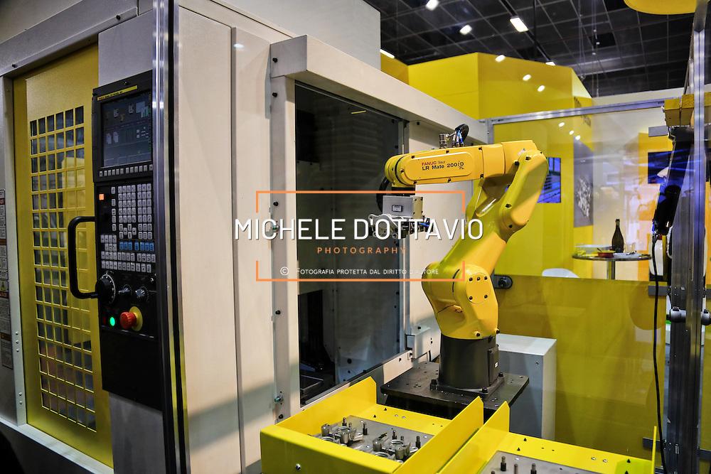 TORINO, 21 aprile 2016 -  Robotic World, evento fieristico al Lingotto