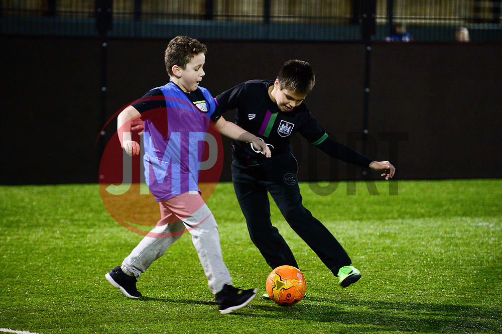 Bristol City Community trust Disability Youth Session  - Mandatory by-line: Dougie Allward/JMP - 20/03/2018 - MULTI SPORT - South Bristol Sports Centre - Bristol, England - Disability Youth Session