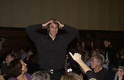 Will Self. Charity Quiz night for Rapt ( Rehabilitation of Addicted Prisoners Trust) Town Hall. Hammersmith. 14  November 2005 . ONE TIME USE ONLY - DO NOT ARCHIVE © Copyright Photograph by Dafydd Jones 66 Stockwell Park Rd. London SW9 0DA Tel 020 7733 0108 www.dafjones.com