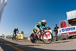 Dartmouth College finishes the Women's Division II team time trial.The 2007 USA Cycling Collegiate Road Championship team time trial were held in Lawrence, Kansas on May 11, 2007.
