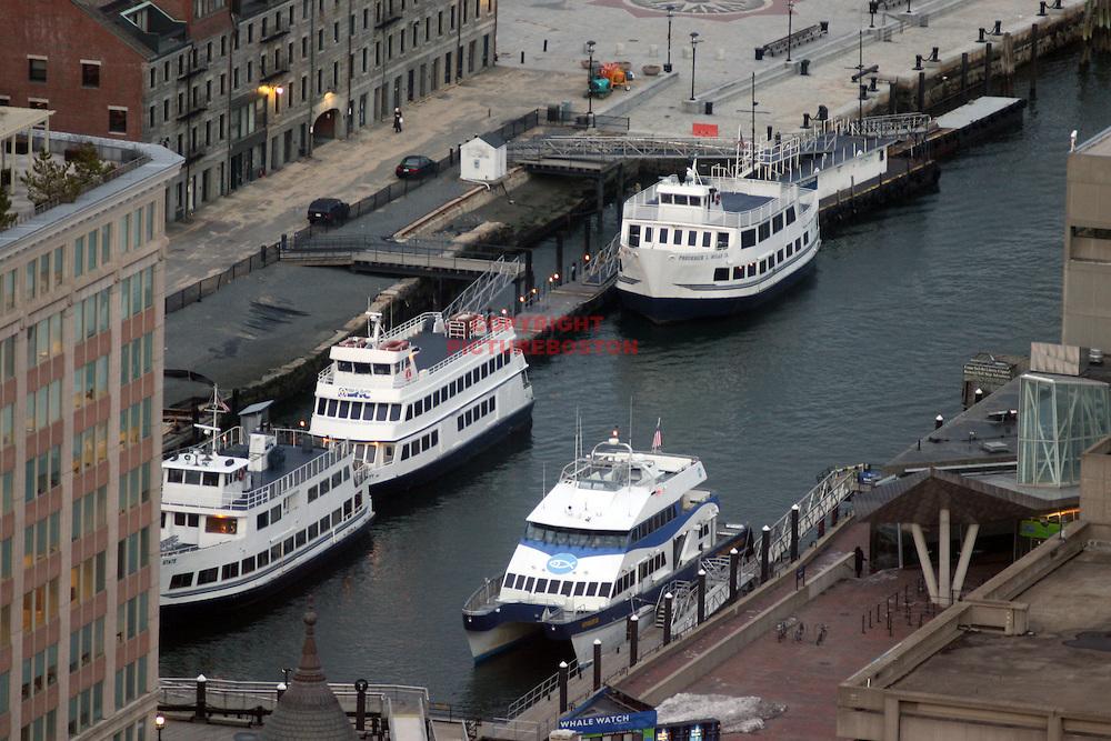 Boston,MA commuter boats. Mark Garfinkel photo