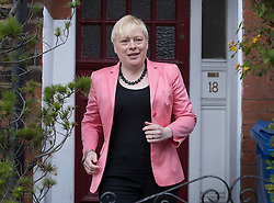 © Licensed to London News Pictures. 11/07/2016. London, UK. Labour leadership challenger Angela Eagle MP leaves home. Later Ms Eagle will launch her leadership bid against Jeremy Corbyn. Photo credit: Peter Macdiarmid/LNP