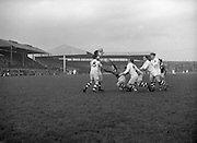 Combined Universities and The Rest v Ireland at Croke Park..06.03.1955.