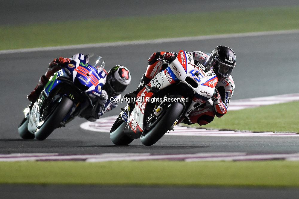 17.03.2016. Losail International Circuit, Doha, Qatar. Commercial Bank Grand Prix of Qatar.Scott Redding (Octo Pramac)  during the free practice sessions.