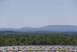 April 29, 2018 - Talladega, Alabama, United States of America - The Monster Energy NASCAR Cup Series races off turn two during the GEICO 500 at Talladega Superspeedway in Talladega, Alabama. (Credit Image: © Chris Owens Asp Inc/ASP via ZUMA Wire)