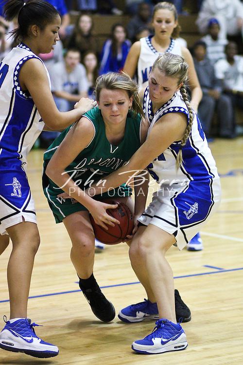 MCHS Varsity Girls Basketball .vs William Monroe Dragons .12/4/09
