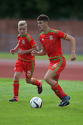 NEWPORT, WALES - Thursday, August 4, 2016: Regional Development Boys' Luke Motruk during the Welsh Football Trust Cymru Cup 2016 at Newport Stadium. (Pic by Paul Greenwood/Propaganda)
