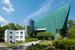 Modern architecture at Free University of Berlin in Dahlem ,Berlin Germany
