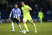 Brighton midfielder Steve Sidwell (36) during the Sky Bet Championship Play Off First Leg match between Sheffield Wednesday and Brighton and Hove Albion at Hillsborough, Sheffield, England on 13 May 2016.