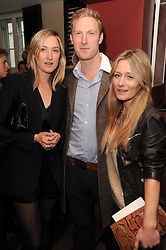 A party to promote the exclusive Puntacana Resort & Club - the Caribbean's Premier Golf & Beach Resort Destination, was held at The Groucho Club, 45 Dean Street London on 12th May 2010.<br /> <br /> Picture shows:-RACHEL KINDER, SAM HOARE and MILLY BROADBENT