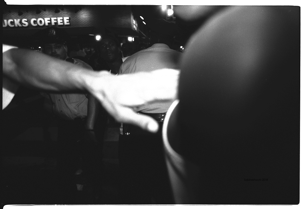 Sabina Louise Pierce BLACK AND WHITE GRITTY PHOTOS OF PHILADELPHIA POLICE IN ACTION 1998-2000