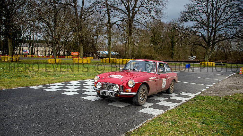 """Photos of Winter Challenge rally from London to Montecarlo 2016 (21-25/02/2016). All rights reserved. Editorial use only for press kit about Rally of the Test 2015. Any further use is forbidden without previous Author's consent. Author's credit """"©Photo F&R Rastrelli"""" is mandatory"""