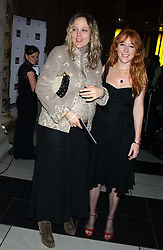 Left to right, BAY GARNETT and CHARLOTTE TILBURY at the 2005 British Fashion Awards held at The V&A museum, London on 10th November 2005.<br />