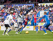 Dundee's Arturo bursts in the home penalty area  - Inverness Caledonian Thistle  v Dundee, Ladbrokes Scottish Premiership at Caledonian Stadium <br /> <br />  - © David Young - www.davidyoungphoto.co.uk - email: davidyoungphoto@gmail.com